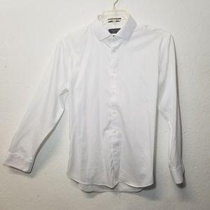 NORDSTROM White Dress Shirt Medium ETF